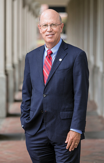 Richard V. Homan, MD, President and Provost of EVMS, Dean of the School of Medicine