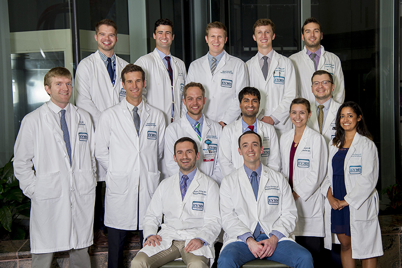 group photo for ent residents