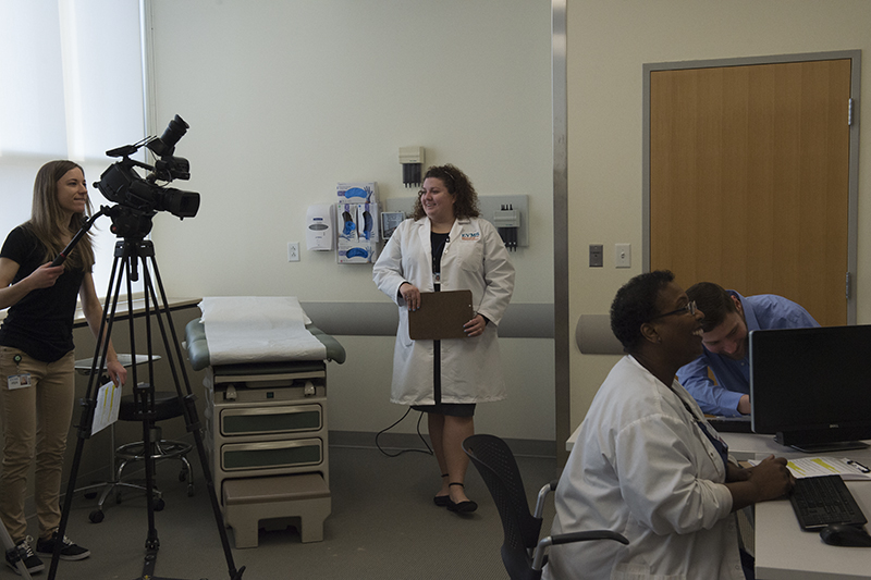 As part of the training for new residents, fellows and RNs, GME staff members are creating video vignettes that facilitate inter-professional collaboration training by using ISBAR.