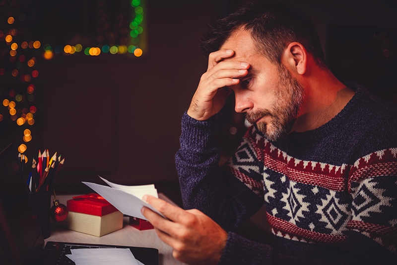 The holidays can be a joyous time, but they can also be stressful.