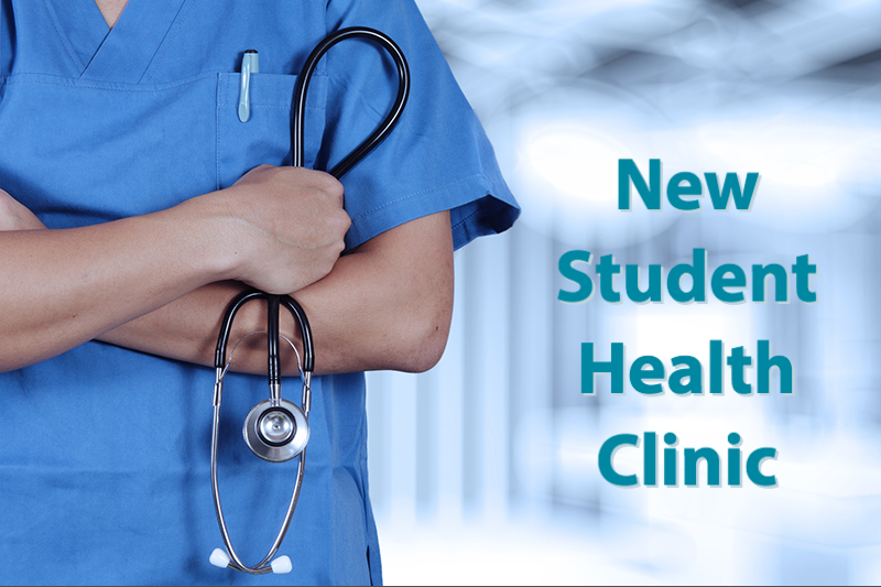 New student health clinic