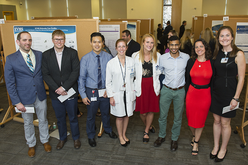 EVMS students, residents and fellows presented their work during Research Day on Oct. 13.