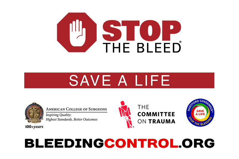 Bleeding to death is the number one reason people die from injuries. In many situations, it is the average person on the street who is first on the scene and can help save a life — if they know what to do.