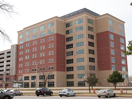 Fort Norfolk Plaza includes several Sentara clinical locations.