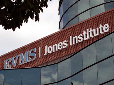 The Jones Institute for Reproductive Medicine at EVMS.