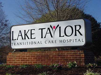 Trainees rotate at Lake Taylor Transitional Care Hospital.