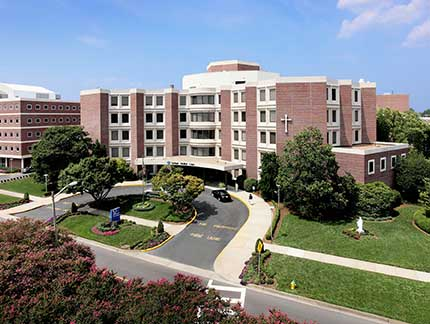 Bon Secours DePaul Medical Center is a major teaching site for EVMS trainees.