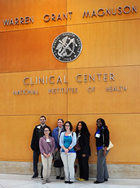 PathA Students visiting NIH Clinical Center