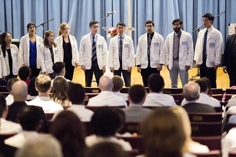 Students, faculty and staff recently honored the generosity of those who committed their mortal remains to medical education at EVMS.