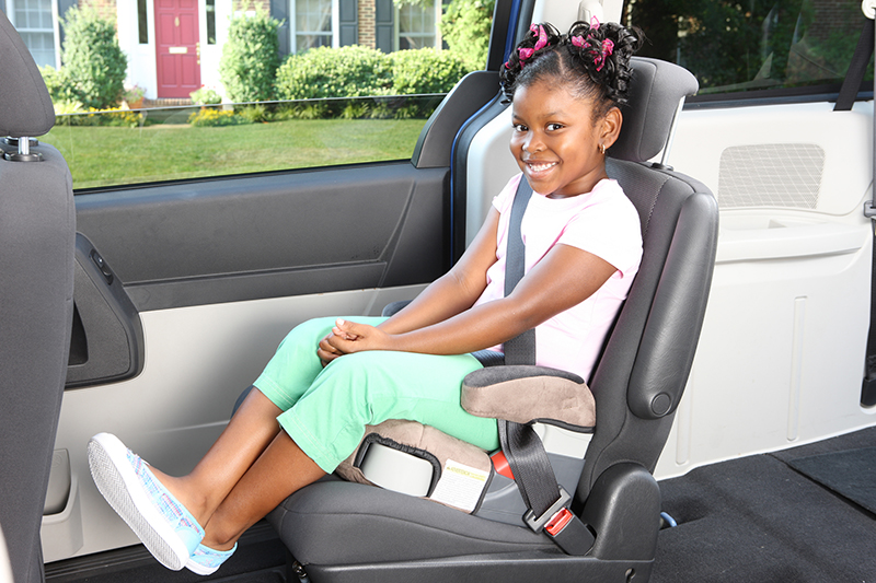 Pediatrics researchers show parents why booster seats are vital.