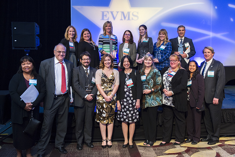 EVMS honored a range of individuals at this year's Employee Service & Recognition Awards Ceremony, including this group of award-winning faculty and staff. Check out the complete list of honorees and more details.