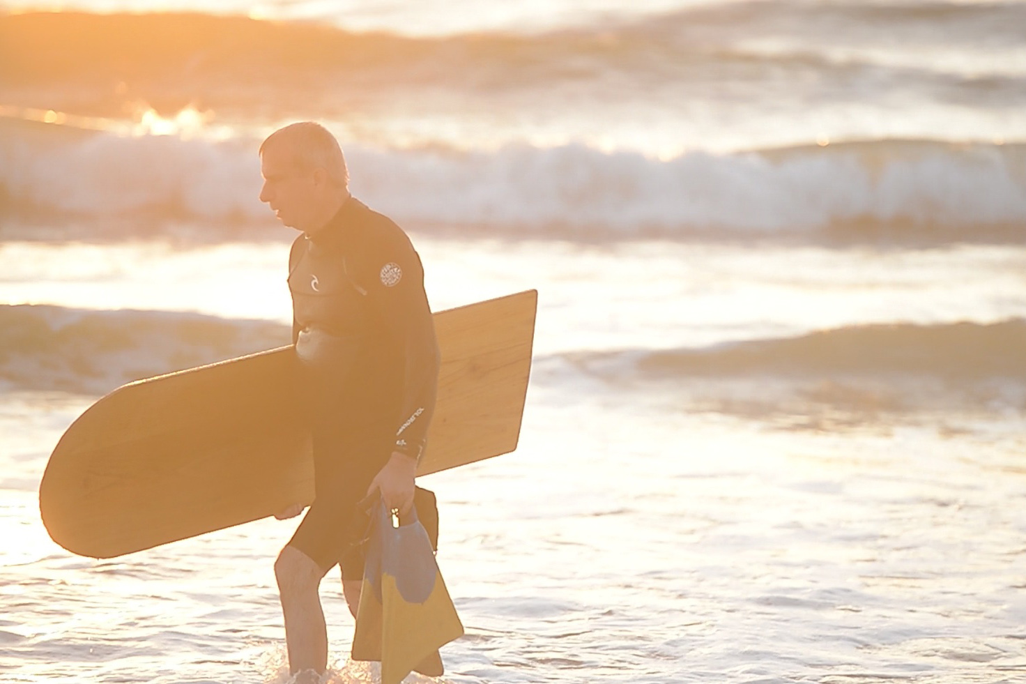 Off campus, Frank Lattanzio, PhD, Associate Professor of Physiological Sciences, can be found surfing early-morning waves — but not in a traditional way. Learn more in our Digital Magazine.