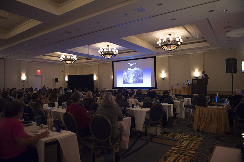 Hundreds of medical professionals from across the country gathered in October for the 19th Annual Mid-Atlantic Ultrasound Symposium in Obstetrics and Gynecology.