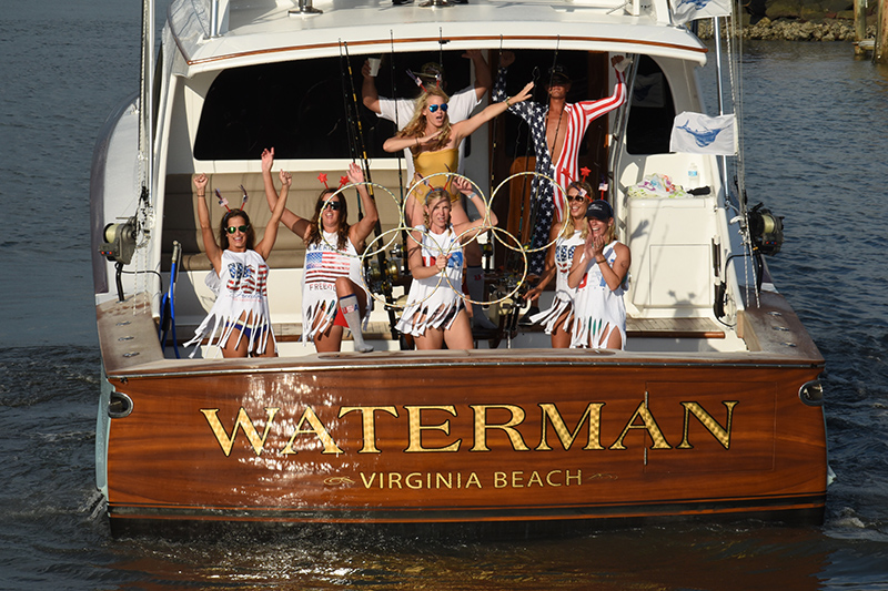 A record number of 40 boats took part in last month's Wine, Women and Fishing, the billfish tournament held every August to raise funds for EVMS.