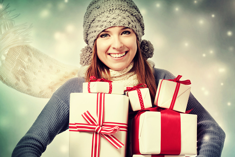 'Tis the season for shopping and for many, the stress that comes with trying to buy the perfect gift. Stores and malls are packed with people looking to buy presents for everyone on their lists. From televisions to toys, gadgets to gift certificates, gift giving is a major component of the holiday season.