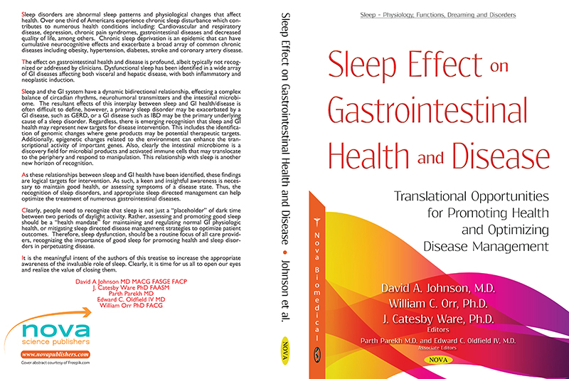 Thirteen current and former EVMS faculty and students have collaborated on a book focusing on how sleep impacts our health.