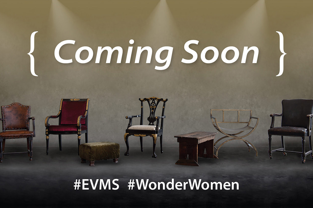 Pull up a chair and take a seat for the Nov. 17 launch of EVMS Magazine. You won't want to miss this very special issue!