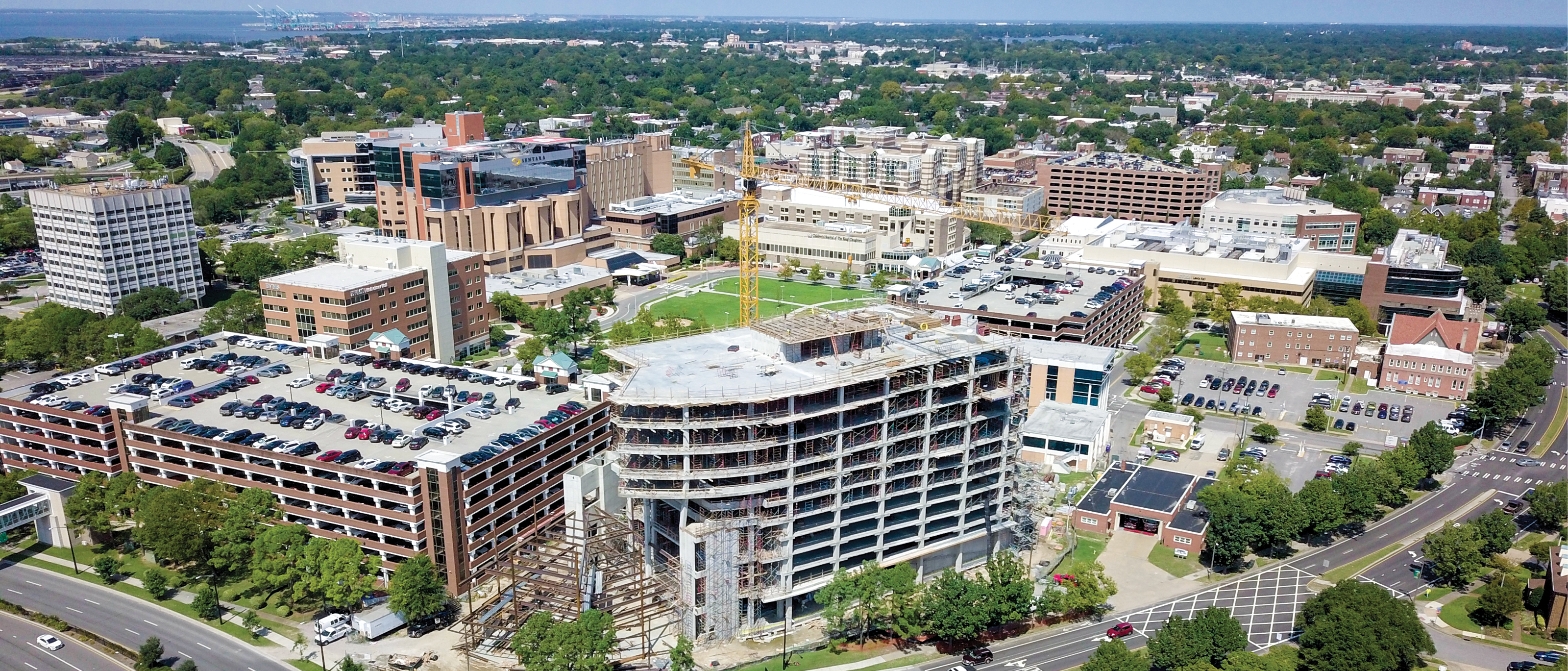 Anchoring the south corner of the medical campus, Waitzer Hall will be a hub of activity for students and staff alike.