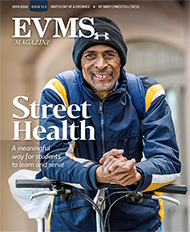 Cover of EVMS Magazine Volume 12 Issue 3