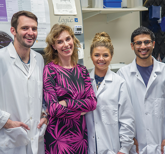 Dr. Galkina and team