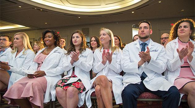PA white coat graduates