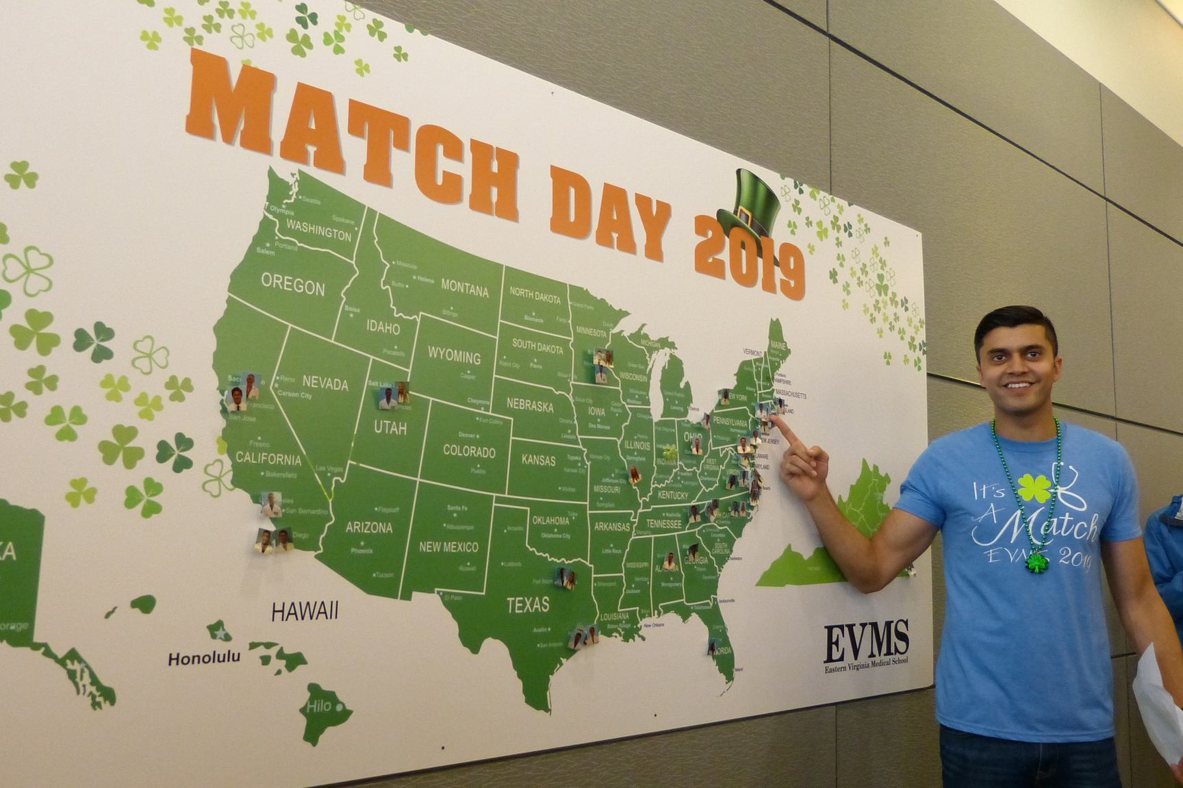 Match Day 2019 - Eastern Virginia Medical School (EVMS