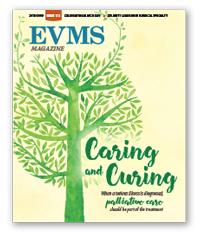Cover of EVMS Magazine