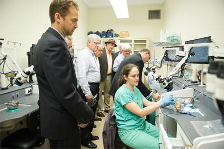 Temporal bone lab demonstration