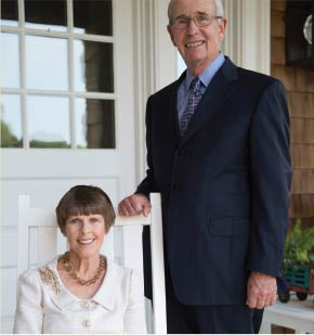 Macon and Joan Brock