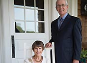 Joan and Macon Brock honored with national philanthropy award