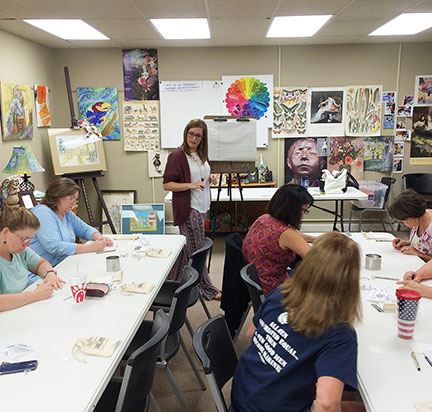 Paige Scheinberg, ATR in the classroom