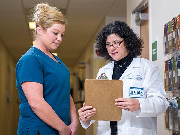 Abby Van Voorhees, MD and Elisha Wilson