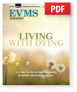 EVMS magazine cover