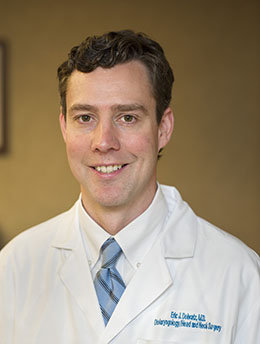 Dr. Eric Dobratz, Associate Professor of Otolaryngology-Head and neck Surgery