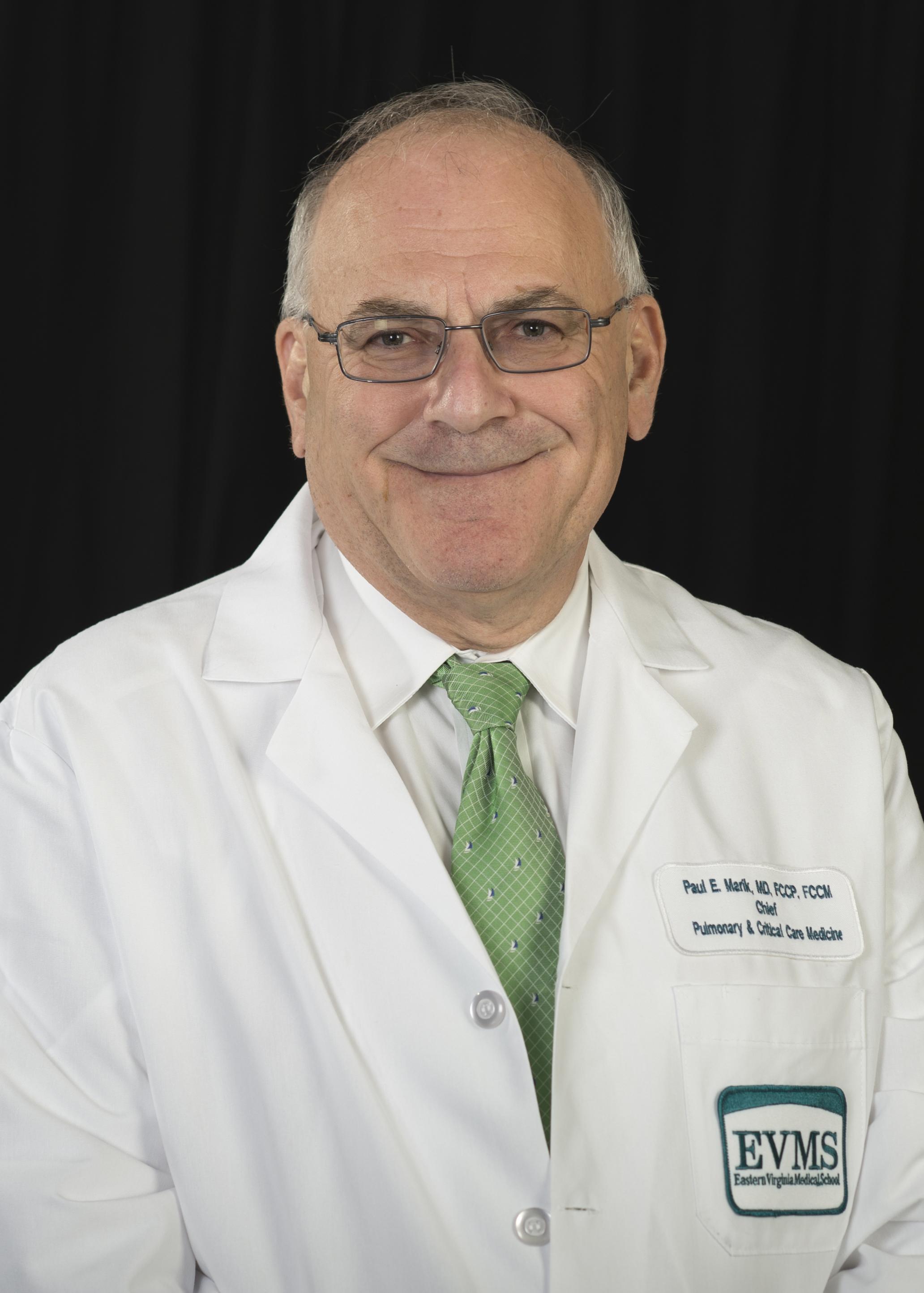Headshot of Dr. Paul Marik.